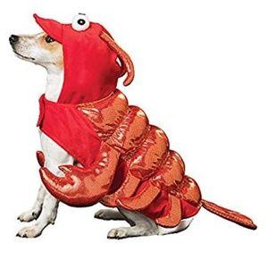 NWT Thrills & Chills Lobster Dog Costume